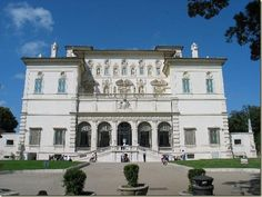 Villa Borghese one of the most beautiful gardens and museums that one can visit.