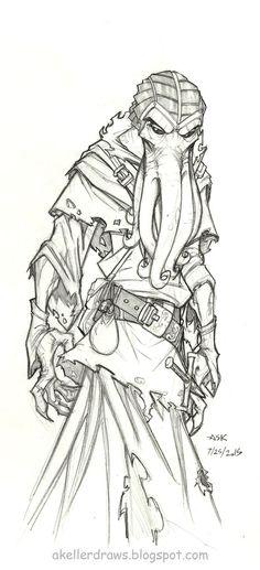 Daily Drawing Clarota by AndrewScottKeller on DeviantArt