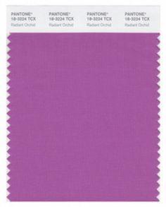 Pantone Color Report: Radiant Orchid