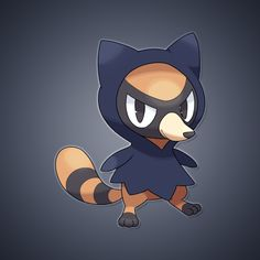 "CriminookThe Thief PokémonAbility: Pickup/FriskHidden Ability: PickpocketType: DarkHeight: 1'05""Weight: 10.0 lbs Base StatsHP 40 | Attack 60 | Defense 40 | Sp. Attack 38 | Sp. Defense 40 | Spe..."