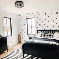 The Lovely Wall Co. is the place to find one of a kind removable wall decals and removable wall paper. Removable Wall Decals, Boys Room Decor, Indoor, Black And White, Bedroom, Home Decor, Image, Instagram, Interior