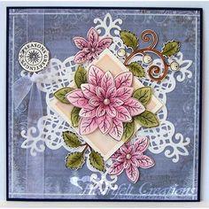 Heartfelt Creations - Poinsettia Seasons Project
