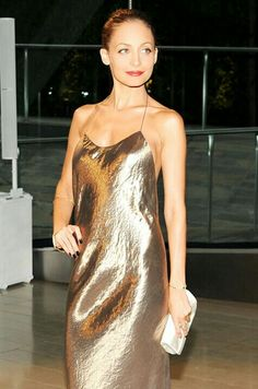 Not only am I obsessed with Nicole Richie, I am obsessed with Metallics this season.