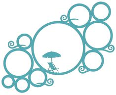 These circle overlays are incredibly versatile.  Turn them, flip them, cut them up...!