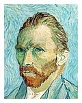 Vincent Van Gogh, Frida Kahlo, and Francis Bacon--Portraits and the artists (Love this website)