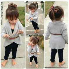 The world& largest portal for children& fashion. O maior portal de moda infantil do mundo. Baby Outfits, Outfits Niños, Little Girl Outfits, Cute Outfits For Kids, Little Girl Fashion, My Little Girl, Toddler Fashion, Fashion Kids, Toddler Outfits