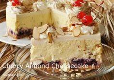 Cherry Almond Cheesecake - Holidays