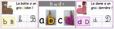 Affiche CP : confusion b / d