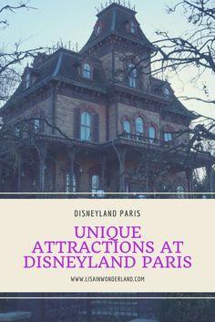 Unique Attractions | Disneyland Paris | Lisa in Wonderland
