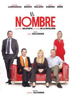 El nombre en Teatro Principal, Ourense teatro escea Amparo Larrañaga, Jorge Bosch, Antonio Molero, Cesar Camino, Kira Miró. Versión de Jordi Galcerán