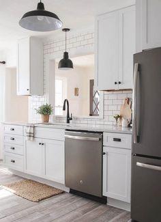 50+ White Kitchen Ideas Small_14