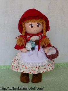 Простая девушка кукла