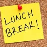 policy: short lunch breaks at work impact on ones ability to go outside for walk/run/jog/skip egc limiting p.a