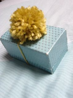 Yellow Decoration Gift Decoration Present by KreationsByKirstenL