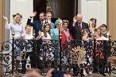 Crown Princess MetteMarit of Norway Prince Sverre Magnus of Norway Crown Prince Haakon of Norway Princess Ingrid Alexandra of Norway Marius Borg...