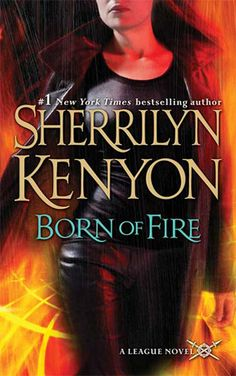 Born of Fire by Sherrilyn Kenyon. This was the second book of The League series. I gave this a four stars. This was between Syn and Shahara.