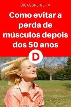 Perda de musculos | Como evitar a perda de músculos depois dos 50 anos | Já ouviu falar em Sarcopenia?