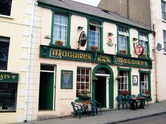 A typical Irish pub in County Donegal