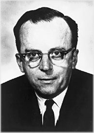 "J.C.R. Licklider: He foresaw the need for networked computers with easy user interfaces. His ideas foretold of graphical computing, point-and -click interfaces, digital libraries, e-commerce, online banking, and software that would exist on a network and migrate to wherever it was needed. He has been called, ""Computing's Johnny Appleseed,"" a well-deserved nickname for a man who planted the seeds of computing in the digital age."