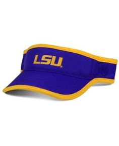 buy online e12b9 95013 Top of the World LSU Tigers Baked Visor   Reviews - Sports Fan Shop By Lids  - Men - Macy s