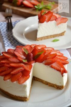 Cheesecake alle fragole (9)