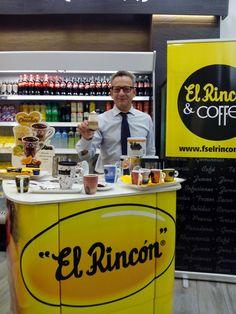 Probando los nuevos cafes y chocolates de @fselrincon, en El Rincón & Coffee (Cesario Alierta 17) #zaragoza
