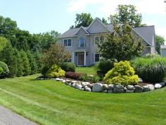 Summer Lawns - traditional - landscape - other metro - Elite Property Care Septic Mound Landscaping, Garden Landscaping, Landscaping Ideas, Septic Tank Covers, Landscape Solutions, Traditional Landscape, Coastal Cottage, Garden Inspiration, The Great Outdoors