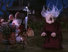 Madame Esmerelda and Peter. Here Comes Peter Cottontail. 1971. Rankin & Bass