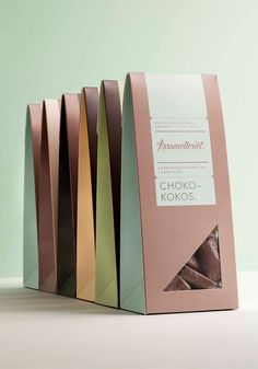 Karamelleriet caramel packaging by Bessermachen Design Studio