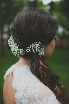 lily of the valley hair
