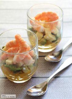 13 deliciosas recetas saladas en vasito para servir en la cena de fin de año