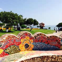 Love Park - Parque del Amor in Miraflores, Lima Peru ❤️