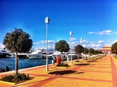 Μαρίνα Φλοίσβου (Flisvos Marina) - Beautiful marina along with a great park, spending an afternoon here is a breeze #Athens