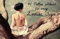 41 Adorable Tattoo Ideas For Every Zodiac Sign