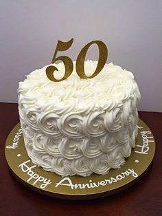 Beautiful Buy 50th Wedding Anniversary Cake Topper 315x420   Enchanting 50th Wedding  Anniversary Cake Ideas Inspirations You Must See   First Thing First: ...