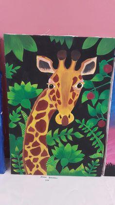 Projects For Kids, Art Projects, Crafts For Kids, Arts And Crafts, Zebra Art, Handprint Art, Art Club, African Art, Art School