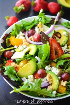 A fresh salad loaded with fresh and whole ingredients like avocado, Gorgonzola cheese, and grilled chicken topped with a tangy dressing. On warm summer days, a chopped salad is our meal of choice. They're light, fresh, and filling! That's pretty much all I need on a hot, summer day like the ones we've been have …