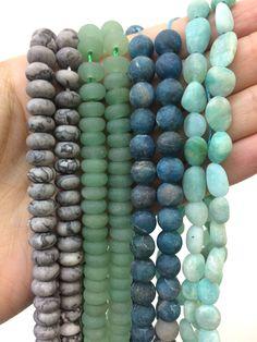 Cute Jewelry, Diy Jewelry, Beaded Jewelry, Handmade Jewelry, Jewelry Design, Jewelry Making, Crystals And Gemstones, Stones And Crystals, Gemstone Beads