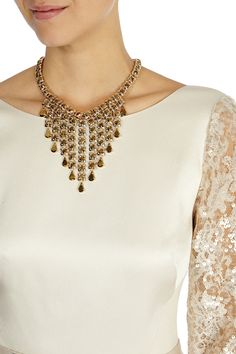 Womens gold necklac from Coast - £39 at ClothingByColour.com