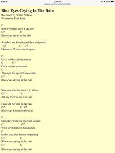 crying in the rain ukulele pdf