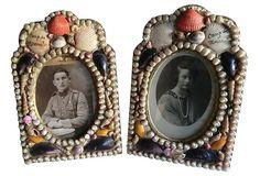 French Sailor's Valentine Frames