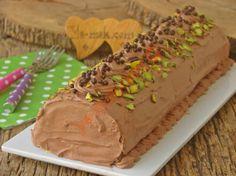 Kakaolu Rulo Pasta Resimli Tarifi - Yemek Tarifleri