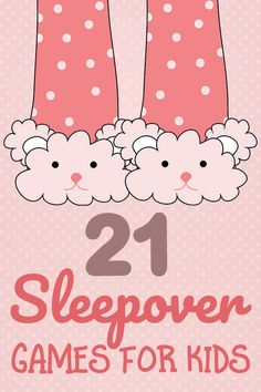 21 Sleepover Games for Kids: Have the Best Pajama Party Ever! 21 Sleepover Games for Kids: Have the Best Pajama Party Ever!Inside: 21 funtastic Sleepover Games for KidsSleepovers. Kids love them…parents Soirée Pyjama Party, Sleepover Party Games, Pyjamas Party, Sleepover Birthday Parties, Sleepover Activities, Kids Party Games, Birthday Party Games, Girl Birthday, Kid Games