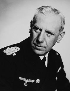 Admiral Wilhelm Canaris - Abwehr chief who conspired against Hitler History Online, World History, Famous People In History, German Army, European History, Second World, Held, Military History, World War Two