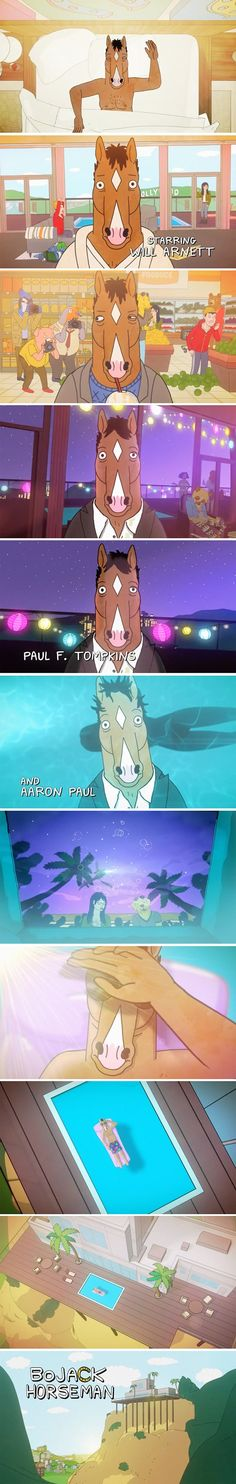 """Bojack Horseman"" opening titles"