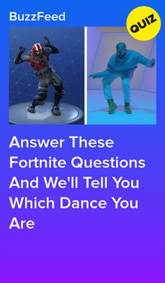 answer these fortnite questions and we ll tell you which dance you are - best fortnite dances youtube