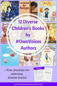 Looking for diverse children's books that are written by diverse authors who share the same background as their characters? Click through to discover twelve of the most engaging, authentic #ownvoices picture books that our family loves! #weneeddiversebook