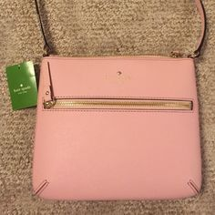 NWT kate spade tenley cedar street Color: rosejade. Comes with the kate spade dust cover bag! This bag is so cute but very practical. The perfect size:) kate spade Bags Shoulder Bags