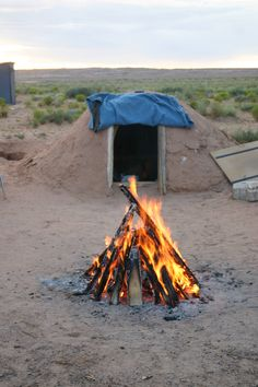 Navajo Prayer Sweat Lodge
