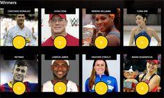 8/15/15 Via Tennis Photos:  Serena Williams and Maria Sharapova amongst world's most charitable athletes. #WTA